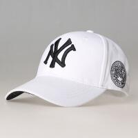 女士户外夏季刺绣棒球帽时尚春夏纯色遮阳防晒太阳帽子鸭舌帽男士 男女通用款帽围可调节