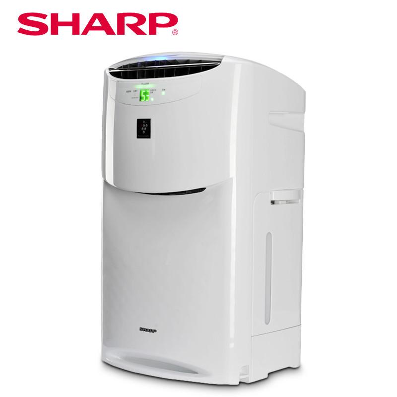 夏普空气净化器KI-BB60-W 加湿型 家用 杀菌消毒除甲醛/二手烟/PM2.5 抗雾霾 高达25000净离子浓度有高效安全除菌能力!