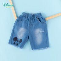 【3件3折到手价:57.9】迪士尼Disney童装 男童牛仔五分裤潮酷男孩纯棉短裤2020年夏季新品儿童裤子