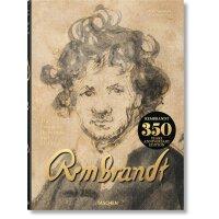 伦勃朗素描及版画全集350周年纪念收藏版 英文原版 精装 超大本Rembrandt The Complete Drawi