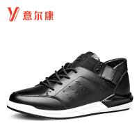 意尔康男鞋时尚运动鞋跑鞋时尚运动男休闲鞋