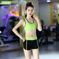 瑜伽服套装女夏季运动服跑步速干背心短裤健身房专业性感修身显瘦