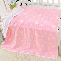 北欧婴儿纯棉纱布盖毯宝宝全棉四层晒不盖被空调被六层八层盖毯