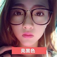 2018新品新款韩版时尚潮大脸个性眼镜框男女士复古圆脸装饰眼镜架