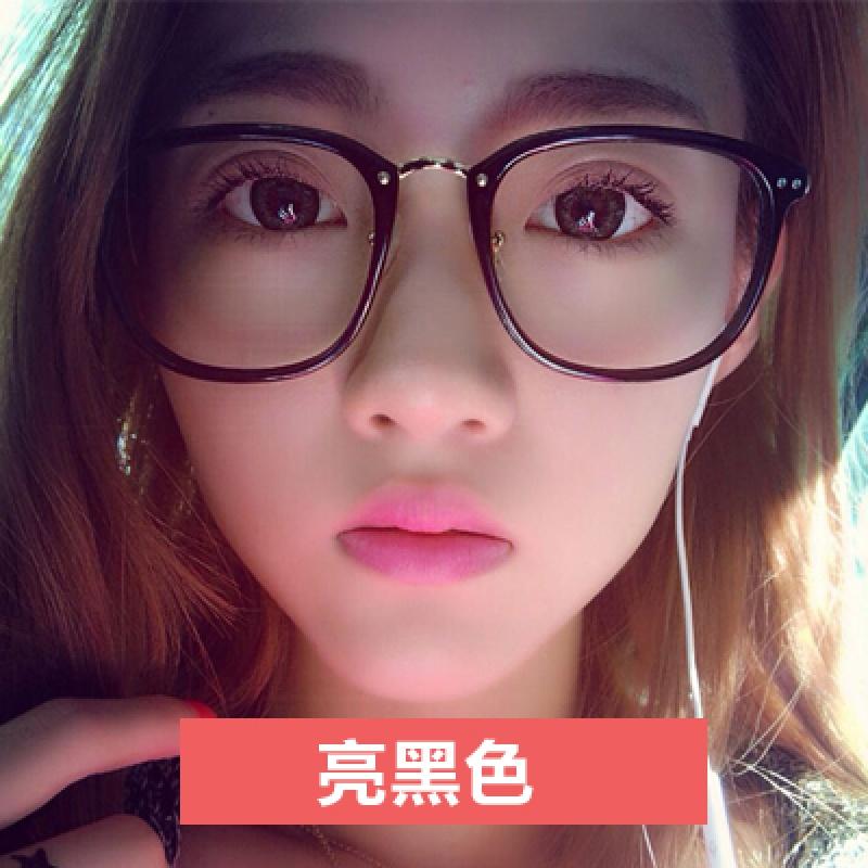 2018新品新款韩版时尚潮大脸个性眼镜框男女士复古圆脸装饰眼镜架 发货周期:一般在付款后2-90天左右发货,具体发货时间请以与客服协商的时间为准