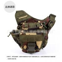 户外路亚包鞍袋斜挎包摄影包男女单肩包军迷包单反相机包
