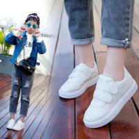 2018春季韩版新款儿童鞋子男童韩版运动鞋女童百搭小白鞋小学生潮