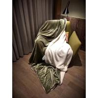 清新双层加厚羊羔绒毛毯子秋冬保暖珊瑚绒沙发毯单双人空调毯
