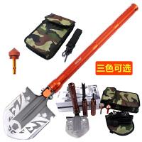 多功能组合折叠工兵铲 户外兵工铲子 野营求生用品装备