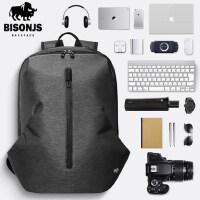 佰圣爵士双肩包男运动休闲时尚潮流旅行包大容量背包学生电脑书包