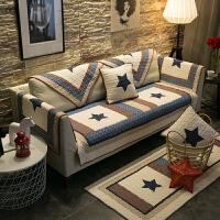 冬季欧式沙发垫毛绒防滑1+2+3组合套装垫子真沙发套罩全盖