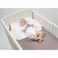 婴儿防吐奶神器新生儿枕头宝宝斜坡床垫防吐奶垫婴儿呛奶枕头 图片色