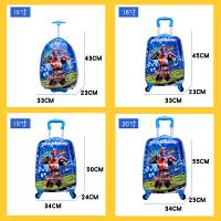 儿童拉杆箱男卡通箱包拉杆皮箱小孩密码箱万向轮20寸18户外旅行箱
