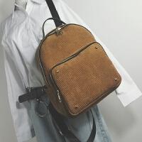 新款女包大容量撞色双肩包女校园百搭学生书包背包旅行大包包