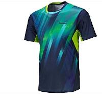 KAWASAKI川崎羽毛球T恤 男式川崎男子专业羽毛球T恤ST-16125绿