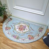 欧式半圆形地毯门垫地垫进门门厅卫生间卫浴门口家用防滑脚垫