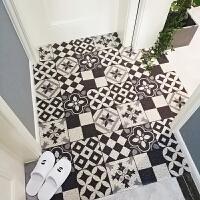 ???黑白圈门垫 入户垫定制门垫 地垫门厅门口地毯脚垫室外垫