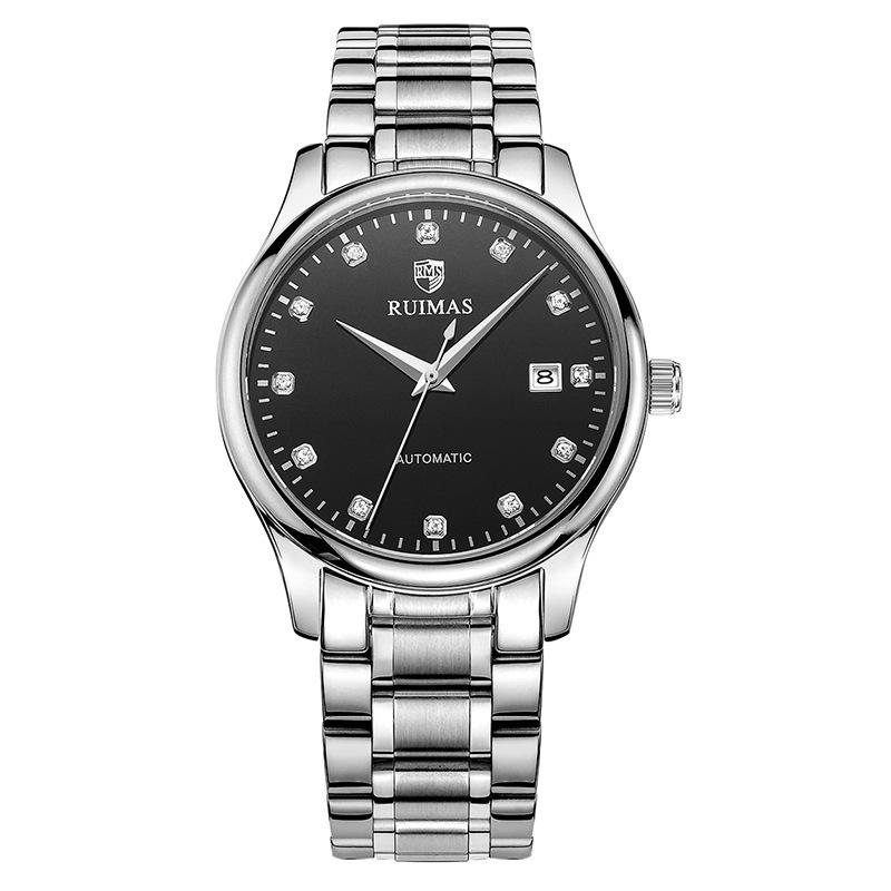 手表 新款时尚商务全自动机械表日历男士手表 发货周期:一般在付款后2-90天左右发货,具体发货时间请以与客服协商的时间为准