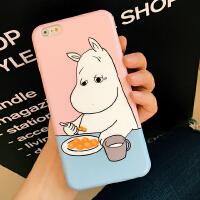 韩国卡通iPhone6s手机壳苹果6plus手机套可爱小清新保护套情侣壳