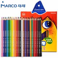 MARCO/马可 1550-24CB 超顺滑彩色铅笔/24色 无毒彩铅儿童绘画画套装涂鸦填色小学生美术课用品幼儿园画材