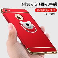 苹果6手机壳 iphone6plus保护套 iPhone6s 苹果6splus 手机壳套 保护壳套 个性磨砂防摔硬壳男