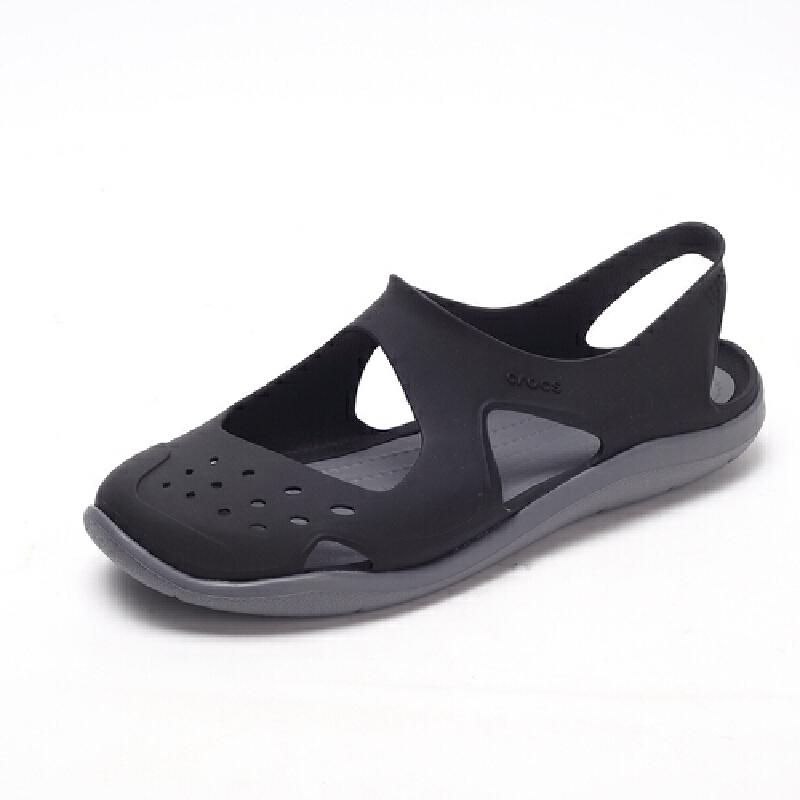 【下单立减200】Crocs卡骆驰女鞋女士激浪涉水鞋卡洛驰沙滩洞洞凉鞋|203995 女士激浪涉水鞋 crocs秋季上新大促
