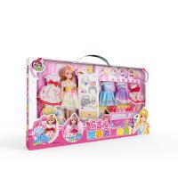 儿童芭比娃娃玩具 甜果换装洋娃娃宝贝礼盒套装女孩公主生日礼物 芭比甜果换装宝贝 26.5CM