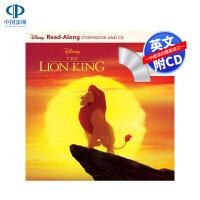 现货英文原版 狮子王 独立阅读故事书 带CD The Lion King Read-Along Storybook an