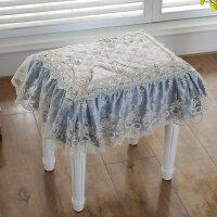 欧式蕾丝坐垫防滑椅垫长方垫小方垫换鞋凳垫子餐椅垫钢琴垫凳罩垫
