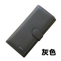 韩版新款女士钱包女长款真皮头层牛皮荔枝纹软皮三折钱夹手包SN6650