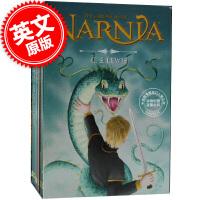 现货 纳尼亚传奇 英文原版 Chronicles of Narnia 8-book Box Set 8册套装 C・S・刘