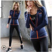 韩国健身房休闲衣服运动套装女显瘦休闲时尚三件套潮