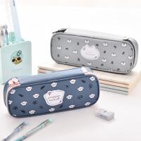 笔袋女ins大容量男女高中生韩版文具儿童可爱创意盒铅笔盒多功能小学生文具袋