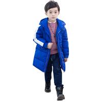 羽绒服/新款中大童加厚羽绒棉袄风衣儿童大衣中长款冬装外套