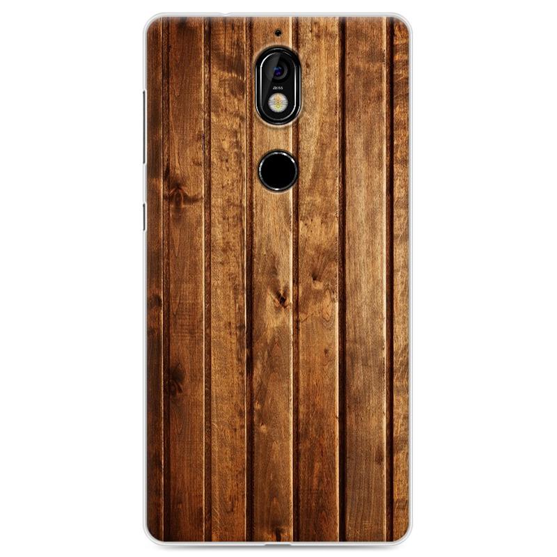 Nokia7手机壳诺基亚7个性软硅胶保护套全包5.2寸仿木纹创意男女 不清楚型号的可以问客服拍下备注型号