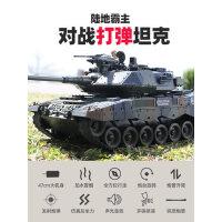 遥控坦克履带式金属可发射水弹电动合金61男孩玩具汽车儿童节礼物