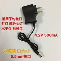 头灯强光手电筒夜钓鱼灯USB车载充通用型5.5mm智能充电器线
