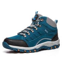 冬季户外高帮登山鞋男女徒步鞋防水户外鞋加厚保暖旅游运动鞋