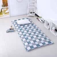 学生宿舍单人床褥0.9m棉絮垫被90cm上下铺床垫1.2m经济型床褥加厚