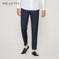 【1件3折到手价:89.97】MECITY男装春羊毛商务西裤韩版修身休闲长裤
