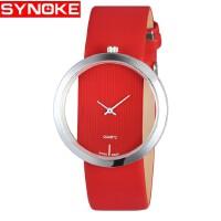时诺刻 电子手表 石英表女士镂空设计时尚学生时装手表简单大方潮 女生女士时尚装饰