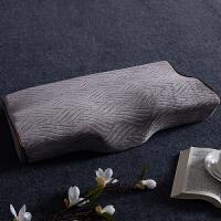 慢回弹护颈枕记忆棉枕头太空枕头单人脊椎枕芯记忆颈椎枕