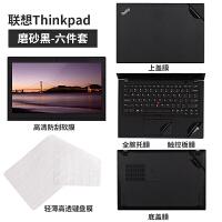 联想thinkpad笔记本贴纸x1电脑new贴纸s1s2外壳e470c保护e580贴膜e480 t4