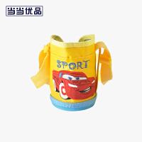 当当优品 儿童保温水壶刺绣杯套 童趣系列 黄色