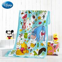 迪士尼(Disney)毛巾家纺 维尼快乐嬉戏生活3件套 毛巾/浴巾礼盒装套装 男女宝宝 儿童毛巾/婴儿浴巾/方巾