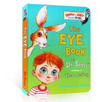 英文原版 认知绘本 The Eye Book 宝宝身体认知 眼睛书 苏斯博士 Dr.Seuss 儿童启蒙 纸板书 Bri