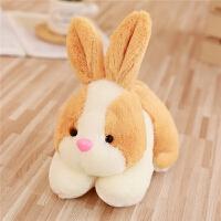 仿真小白兔子公仔小号兔兔玩偶毛绒玩具布娃娃儿童小女孩生日礼物 20厘米《买2只优惠3元》