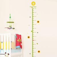 向日葵宝宝测量身高贴儿童房创意卡通墙贴纸贴画墙壁装饰墙纸自粘 向日葵身高贴 大
