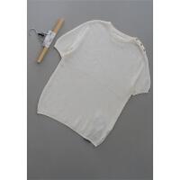 [158-222]亚麻男装上衣男士针织衫0.23