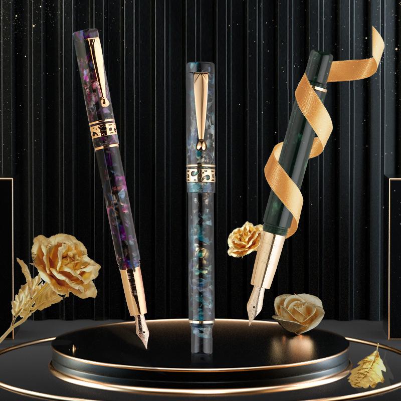 英雄(HERO)钢笔 H701(10K金笔)/钢笔墨水礼盒套装 礼物礼品 购买英雄钢笔 请认准官方旗舰店